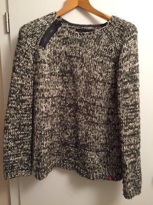 Oversize Pullover mit Glitzer