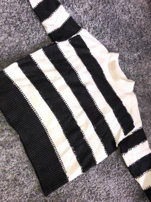 Oversize Pullover mit Glitzer von Zara