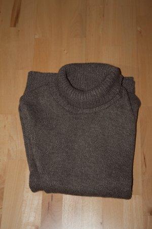 Oversize Pullover - mit Knöpfen - Oversize