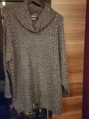 Oversize Pullover mit Lurex