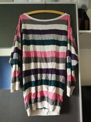 Oversize Pullover mit Streifen