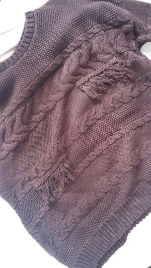 Oversize Pullover Pimkie Weinrot Strick Knit