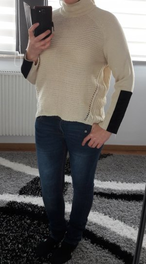 Oversize Pullover Pulli warm Noisy May by Vero Moda Gr. L/40 Strickpulli beige