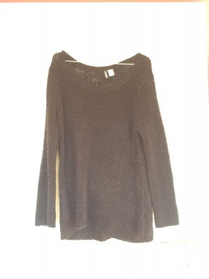 Oversize- Pullover, schwarz, H&M