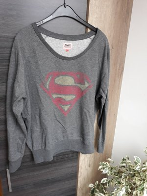 Oversize Pullover Superman Only