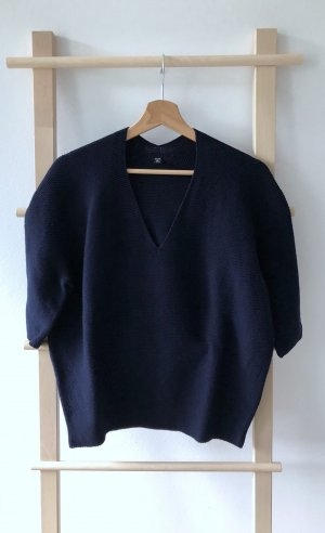 Uniqlo Oversized Sweater dark blue