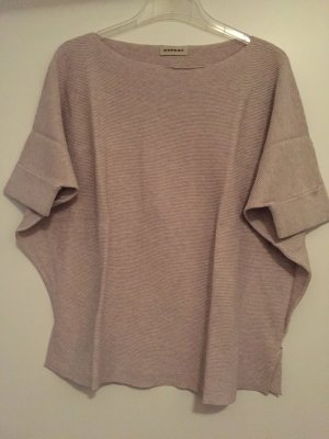 Oversize Pullover von der Marke Repeat in sand
