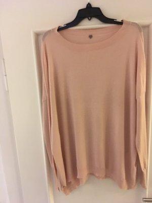 Marc Cain Oversized Sweater dusky pink merino wool
