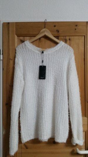 Oversize Pullover Weiß Lipo Lipo