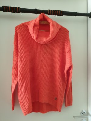Reserved Oversized Sweater apricot-salmon