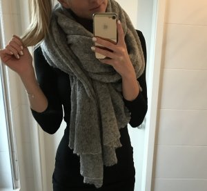 Oversize Schal ASOS grau