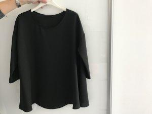 COS Oversized shirt zwart Polyester