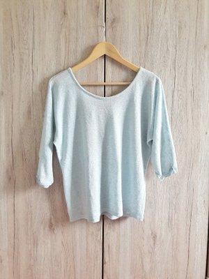 Oversize Shirt blau Gr. L