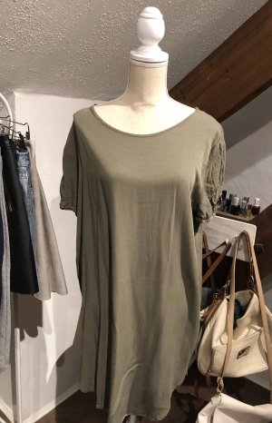 Oversized Shirt green grey