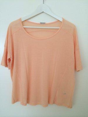 Oversize Shirt in Apricot von iheart