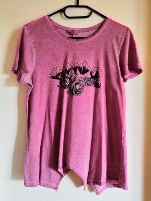 Oversize Shirt in rockiger Used-Optik