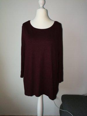 Oversize Shirt in weinrot von der Marke Only in der Größe XL (42)