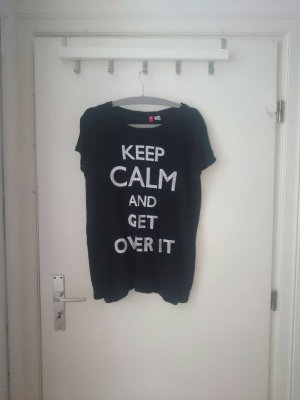 """oversize shirt """"keep calm and get over it"""""""