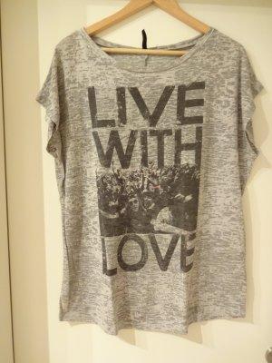 oversize Shirt mit Aufdruck