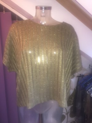 Oversize Shirt mit dezentem Glitzerfaden ~ NEU ~ Gr. S - L