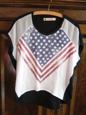 Oversize Shirt mit Motivdruck Gr.M-L