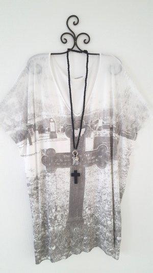 Oversize Shirt Retro Vintage Gr. L-XL