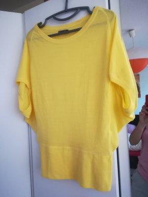 oversize shirt Sonnengelb only s