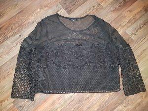 Oversize Shirt - Spitze - Transparent - Sexy