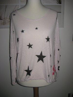 Oversize Shirt von Frogbox L im angesagten Sternelook