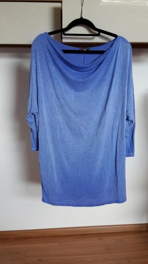 Street One Camisa azul aciano-azul neón Algodón