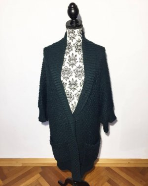 Calvin Klein Coarse Knitted Jacket dark green