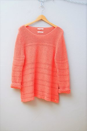 Esprit Knitted Sweater salmon-apricot