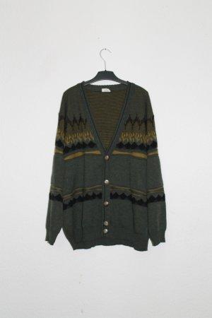 Oversized Sweater dark green-forest green polyester