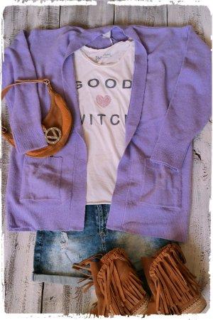 Ichi Oversized Jacket mauve-lilac