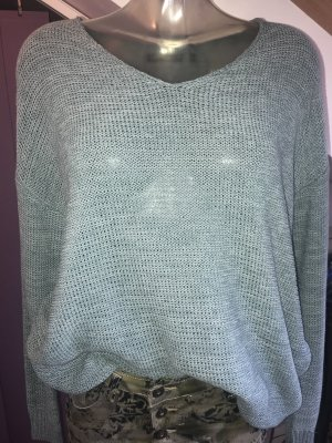 Oversize Strickpulli in mint ~ Gr. M/L ~ NEU ~ MARK ADAM New York