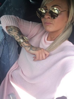 Oversized Sweater rose-gold-coloured-pink