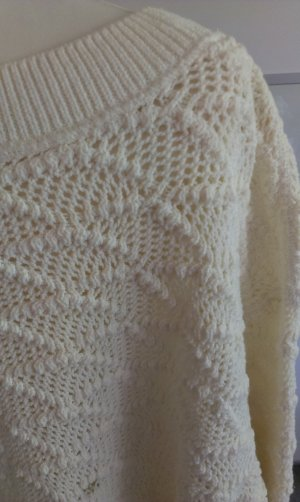 oversize Strickpullover Marc Cain, natur