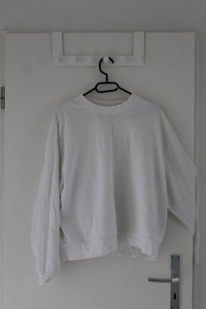 Oversize-Sweater in weiß