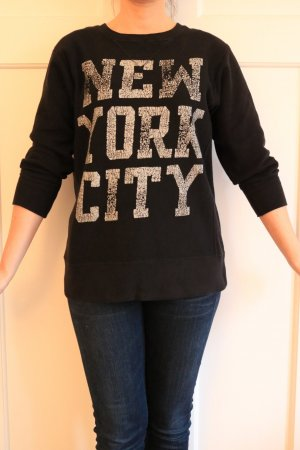 Oversize Sweater mit Druck von Denim Supply Gr. XS/S