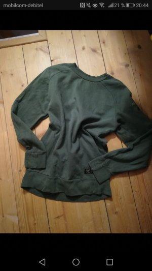 oversize Sweatshirt in grün