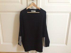 Oversize Sweatshirt mit silbernen Details