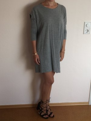 Noisy May Robe à manches courtes gris