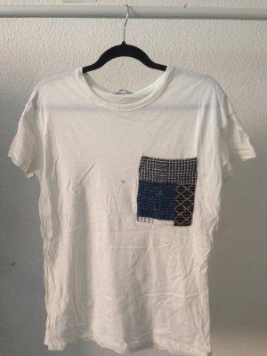 oversize t-shirt mit brusttasche