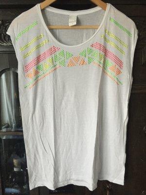 Oversize T-Shirt mit Neon Studs