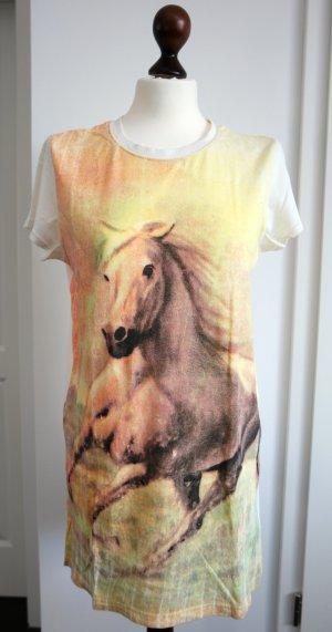 Oversize T-Shirt mit Pferde Print von Topshop