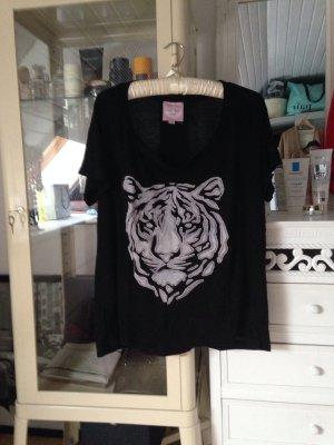 Oversize t-shirt tiger Romeo&Juliet Couture