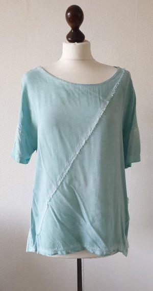 Esprit Blusa de túnica turquesa Viscosa