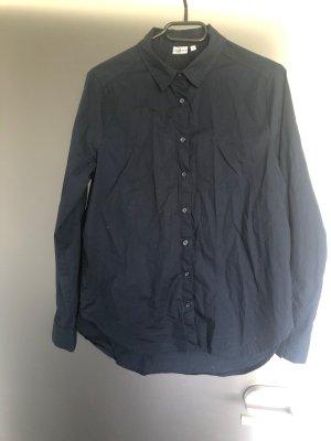 Blusa ancha azul oscuro Algodón