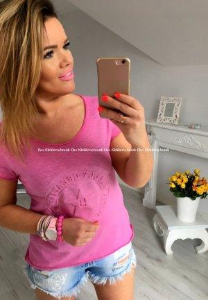 Oversize Vokuhila Shirt Top Tunika Bluse Vintage Look passt bei L - XXXL