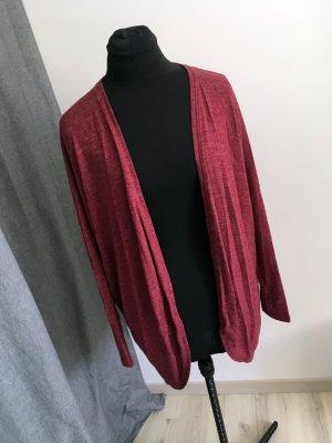 Yessica Gilet long tricoté multicolore coton